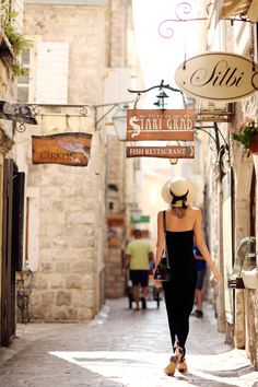 Budva old town Montenegro - photo by James Fhompson for Tuula