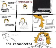 Books? Nah, I use the internet!