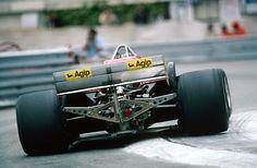 Photo of the day: Gilles Villeneuve and Ferrari, Monaco 1981