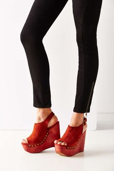 Jeffrey Campbell Snick Studded Wedge