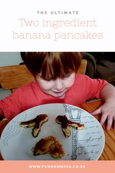 The ultimate two ingredient banana pancakes - Mamma & Bear