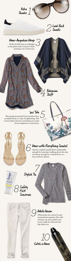 cabi Clothing | What to Pack for a Labor Day Weekend Getaway