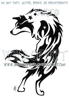 Border Collie Starry Tribal by WildSpiritWolf.deviantart.com on @deviantART