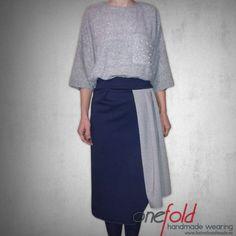 Waist Skirt, High Waisted Skirt, Sewing, Skirts, Handmade, How To Wear, Fashion Design, Needlework, Hand Made