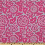 Joel Dewberry Heirloom Blockprint Blossom Blush