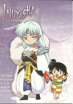 Sesshomaru and Rin