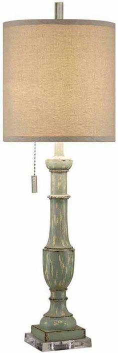 Crestview Collection CVAVP095 Chartwell Table Lamp 12.5 X 12.5 X 13
