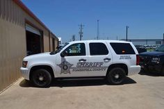 Somervell County Sheriff's Chevy police car