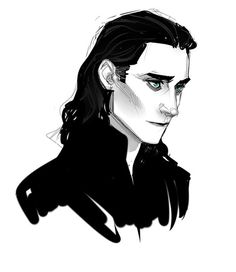 Loki fan art <<--asdfHJKL! I love this one XDD (also, is it just me, or does this look slightly Disney-style??) #lokifanart