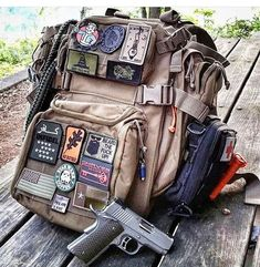 Survival camping tips Military Armor, Military Gear, Military Equipment, Survival Backpack, Camping Survival, Survival Gear, Airsoft, Best Laptop Cases, Tactical Backpack