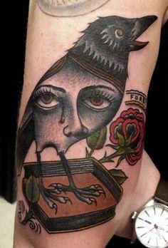 (100+) crow tattoo   Tumblr
