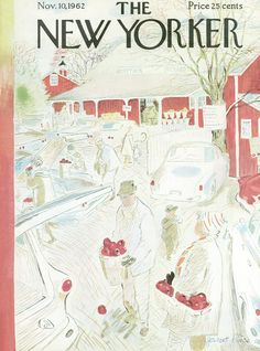 The New Yorker - Saturday, November 10, 1962 - Issue # 1969 - Vol. 38 - N° 38 - Cover by : Garrett Price