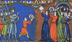 1244-1254 From Paris, FranceMorgan M.638 Maciejowski Bible