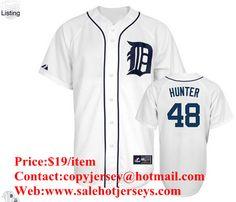 c6a7f6c78 MLB Detroit Tigers #48 Rick Porcello White Jersey Mlb Detroit Tigers,  Detroit Tigers Apparel