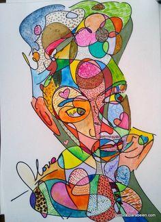Retrato neopop de Frida