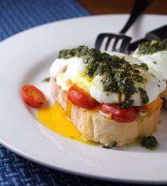 Tapa de Mozzarella, Tomate Cherry y Pesto - Tapas, Pinchos y Aperitivos - Recetas - Charhadas.com