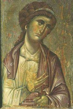 Byzantine Art, Byzantine Icons, Religious Icons, Religious Art, Russian Icons, Best Icons, Archangel Michael, Angels And Demons, Orthodox Icons