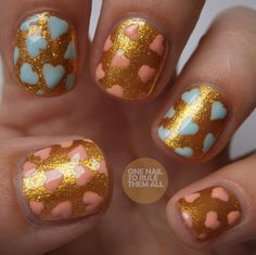 onenailtorulethemall:  New Collection 2000 review and nail art...