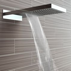 60 Shower Heads Ideas You Will Love - Traumhaus / dream home / casa di sogno - Chuveirão Shower Fixtures, Shower Faucet, Shower Backsplash, Backsplash Ideas, Double Shower Heads, Modern Shower Heads, Shower Heads Best, Large Shower Heads, Bathroom Shower Heads