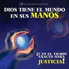 """""""Y ahora vosotros sabéis lo que lo detiene, a fin de que a su debido tiempo se manifieste."""" II Tesalonicenses 2:6    Dios tiene el control de todo y él sabe, inclusive, que el mal actúa en este mundo."""