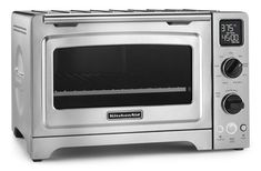 online shopping for KitchenAid 12 Convection Bake Digital Countertop Oven - Stainless Steel from top store. See new offer for KitchenAid 12 Convection Bake Digital Countertop Oven - Stainless Steel Best Convection Microwave, Countertop Convection Oven, Small Kitchen Appliances, Kitchen Countertops, Kitchenaid Toaster, Toaster Ovens, Pizza Ovens, Pizza Pizza, Hot Wheels