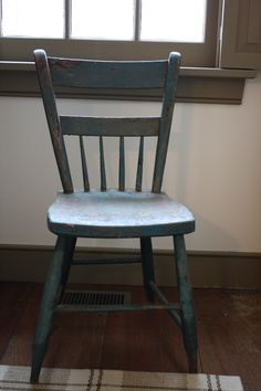 antique chair                               ****. i want a chair like this in the kitchen to use while i wait for things to cook.