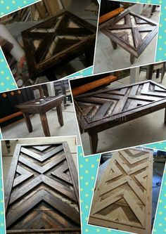 Pallet Coffee Table could be door