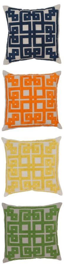 Surya pillows from @Lacefield Designs