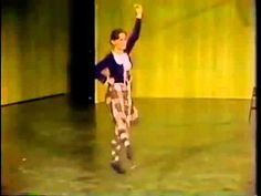 Mary Beth Klein (Miller) - Juvenile world champion at Cowal 1976 dancing Highland Laddie - University of Iowa Scottish Highlanders Spring Concert, May 4, 1979.