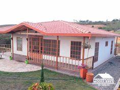 Casas prefabricadas un nivel Orlando, My House, Sweet Home, Villa, Deck, Outdoor Structures, Patio, Architecture, Outdoor Decor