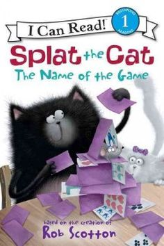 Looking forward to a fun-filled playdate with his friends Spike and Plank, Splat the Cat is dismayed when things start going wrong, from his fall during a game to his inability to find a good hide-and-seek spot.