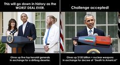 Obama Accepts Challenge