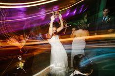 Glow Stick Reception - Glow Stick Party - Wedding Day Glow Stick - Reception Photography  Larissa & Casey — Daring Tales of Darling Bones