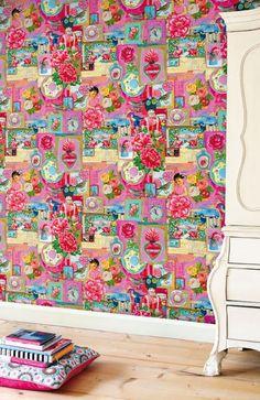 Home & Garden : Papiers-peints : Pip Studio vs Catalina Estrada