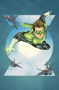 Green Lantern by Danny Rhodes