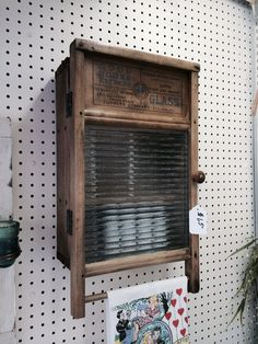 Antique Washboard Cabinet by RelicsnRestorations on Etsy, $65.00