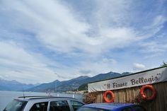 Strandje vlakbij Bellagio Italy