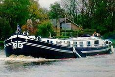 Dutch Barges for Salutch Barges for Sale Barge Boat, Canal Barge, Canal Boats For Sale, Canal Boat Narrowboat, Barges For Sale, Barge Interior, Liveaboard Boats, Shanty Boat, Dutch Barge