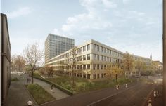 Competition for hospital redevelopment in Basel decided / open heart surgery - Architecture and architects - News / Announcements / News - BauNetz.de // by giuliani.hönger