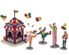 2006 Carnival Ticket Booth Set of 5 Village Figurines by Lemax, http://www.amazon.ca/dp/B002R0CYMI/ref=cm_sw_r_pi_dp_FQajsb1G74NGT