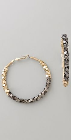 MUST... Soo Ihn 'Hester Earrings' $40. via shopbop.com...GOT 'EM!!! So cool in person...and BIG!