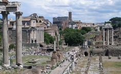 """""""Overlooking the Roman Forum and Colosseum."""" (From: 25 Beautiful Photos of Rome)"""