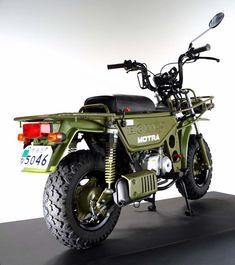 HONDA MOTRA CT50 Honda Motorbikes, Honda Motorcycles, Vintage Motorcycles, Motorcycle Shop, Scrambler Motorcycle, Motorcycle Design, Moto Car, Moto Bike, Yamaha Scooter