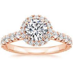 14K Rose Gold Sienna Diamond Ring
