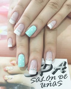 Uñas Manicure And Pedicure, Pretty Nails, Nail Art Designs, Beauty, Ideas, Fairy, Amor, Frases, Decorations