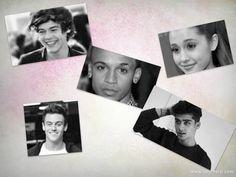 Celebrity Posters...Aston Merrygold, Harry Styles, Zayn Malik, Tom Daley and Ariana Grande!!!xxx
