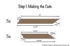 DIY Star Decor   Free Plans   Step 1