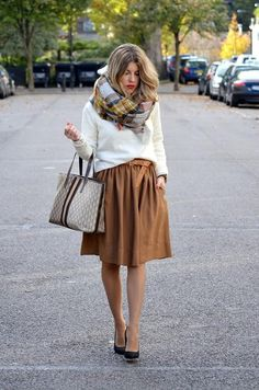 las faldas más bonitas también en invierno