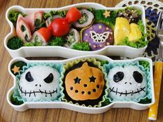 The Nightmare before Christmas Jack Skellington Bento