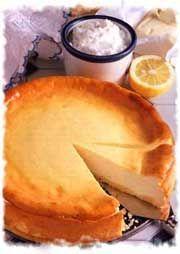 El cheesecake mas casero y rico que he probado. Alemán.